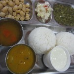 Diabetes meal at Dr. Mohan's clinic