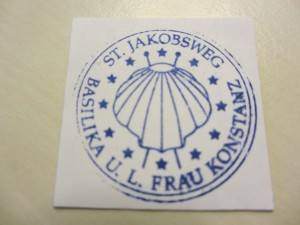 Konstanz Camino Stamp