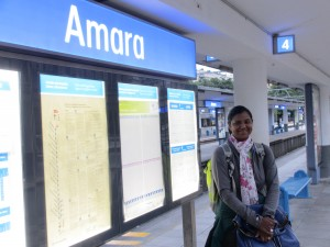 San Sebastian station (Amara)